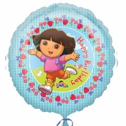 Dora The Explorer Party Helium Foil Balloon