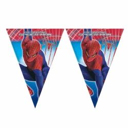 Amazing Spiderman Party Flag Banner