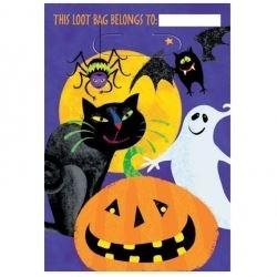 Gruesome Group Halloween Party Bags