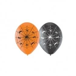 Halloween Spiders Web Balloons