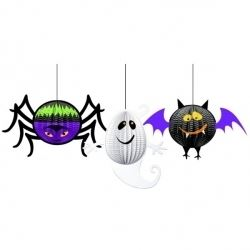 Halloween Gruesome Group 3D Hanging Decorations