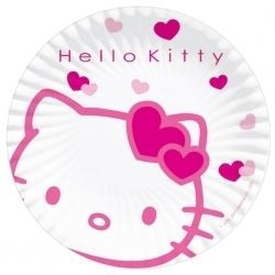 Hello Kitty Party Plates.