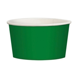 Party Green Paper Treat Bowl