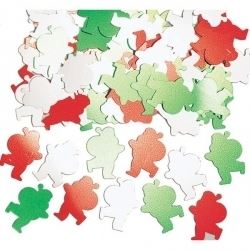 Santa Christmas Party Table Confetti