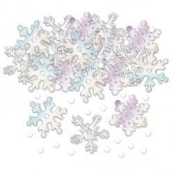 Snowflake Christmas Table Confetti