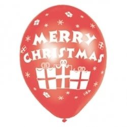 Merry Christmas Party Balloons