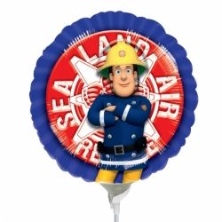 Fireman Sam Mini Foil Party Balloon