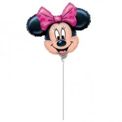 Minnie Mouse Mini Foil Party Balloon.