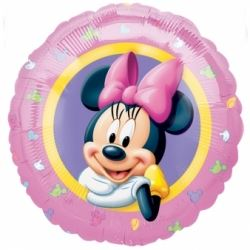 Minnie Mouse Helium Foil Balloon