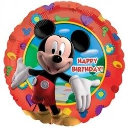 Mickey Mouse Club House Helium Foil Balloon