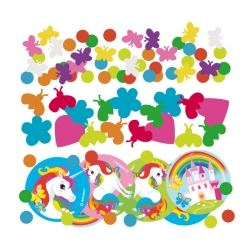Rainbow Unicorn Party Confetti