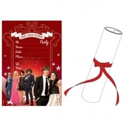 High School Musical 3 Party Invitations