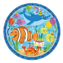Ocean Buddies Party Plates