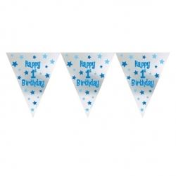 First Birthday Boy Party Flag  Banner.