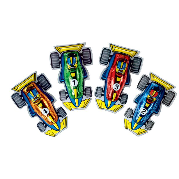 Party Favour Storz F1 Chocolate Cars