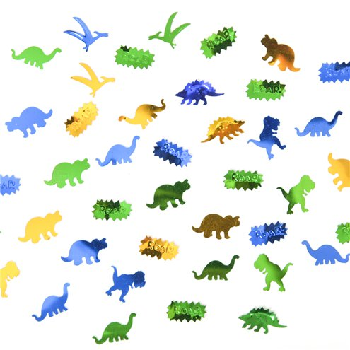 Dinosaur Roar Table Confetti