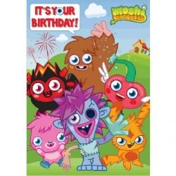 Moshi Monster Birthday Card