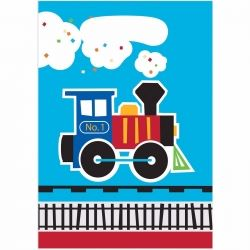 All Aboard Steam Train Party Bags