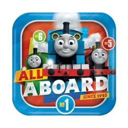 Thomas The Tank Engine Party Plates
