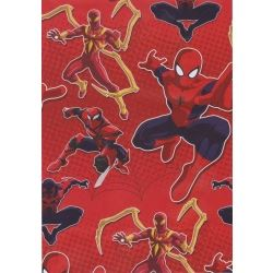 Spiderman Party Gift Wrap And Tags