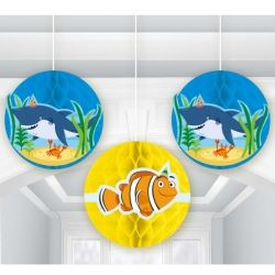 Ocean Buddies Honeycomb Party Decorations