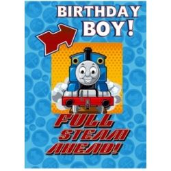 Thomas The Tank Birthday Card With Moving Picture