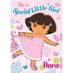 Dora The Explora Birthday Card