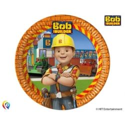 Bob The Builder Party Plates