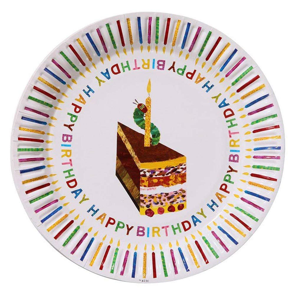 The Very Hungry Caterpillar Party Plates