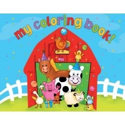 Barnyard Bash Colouring Book