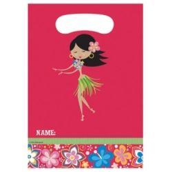 Luau Hula Hula Party Bags