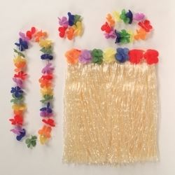 Luau Hula Hula Party Skirt Kit