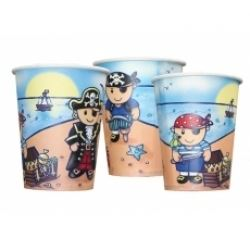 Lovely  Chubblies Pirate Party Cups