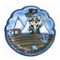 Lovely  Chubblies Pirate Party Plates