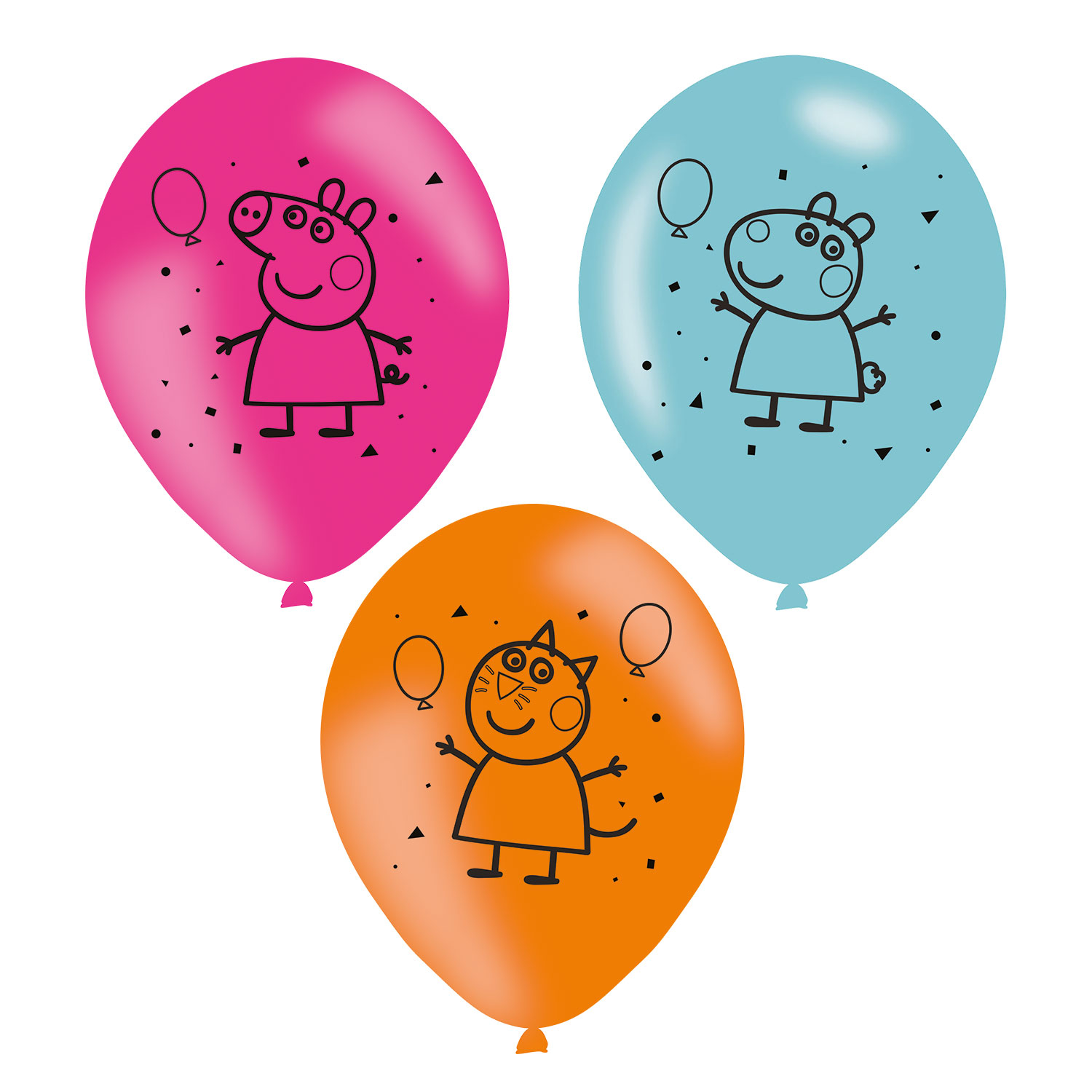 Peppa Pig Happy Birthday Party Balloons