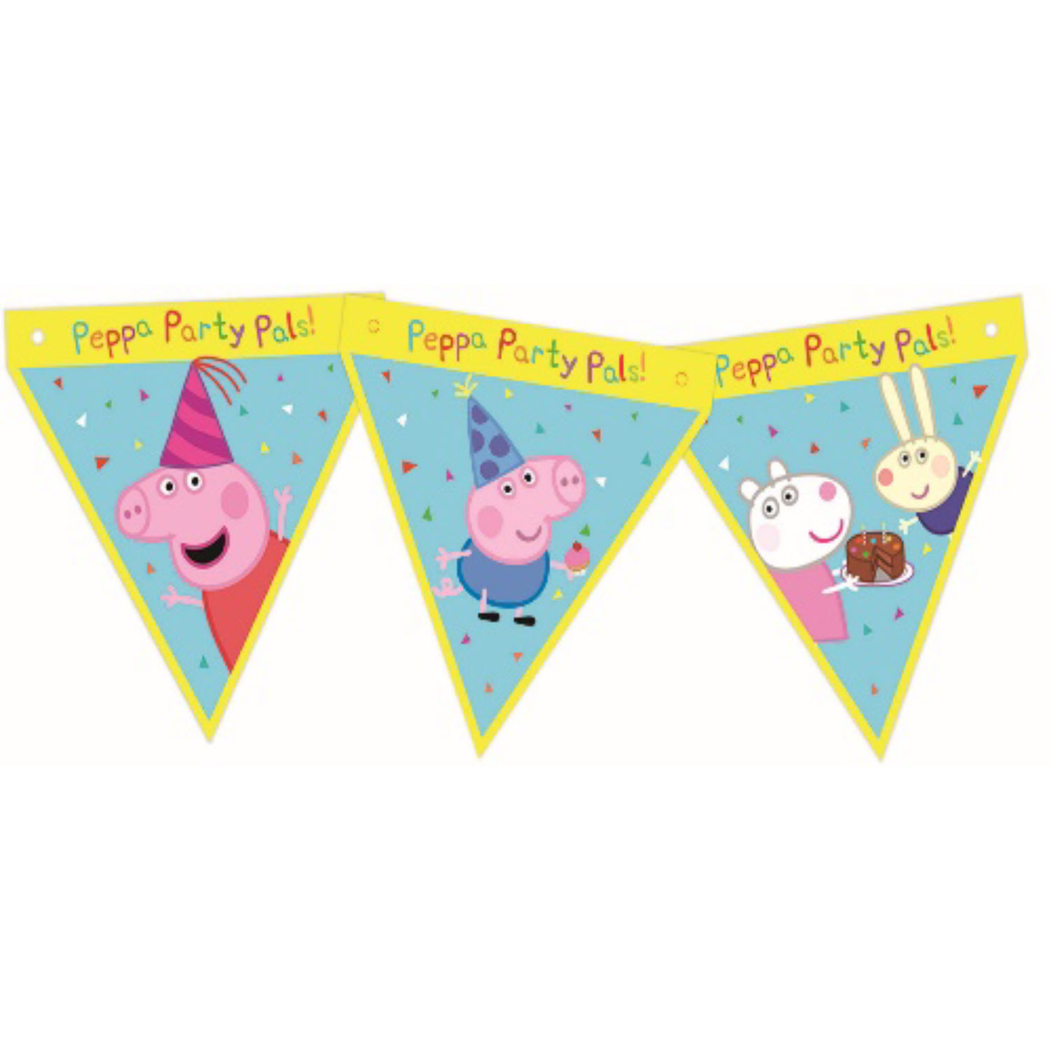 Peppa Pig Party Pals Party Banner