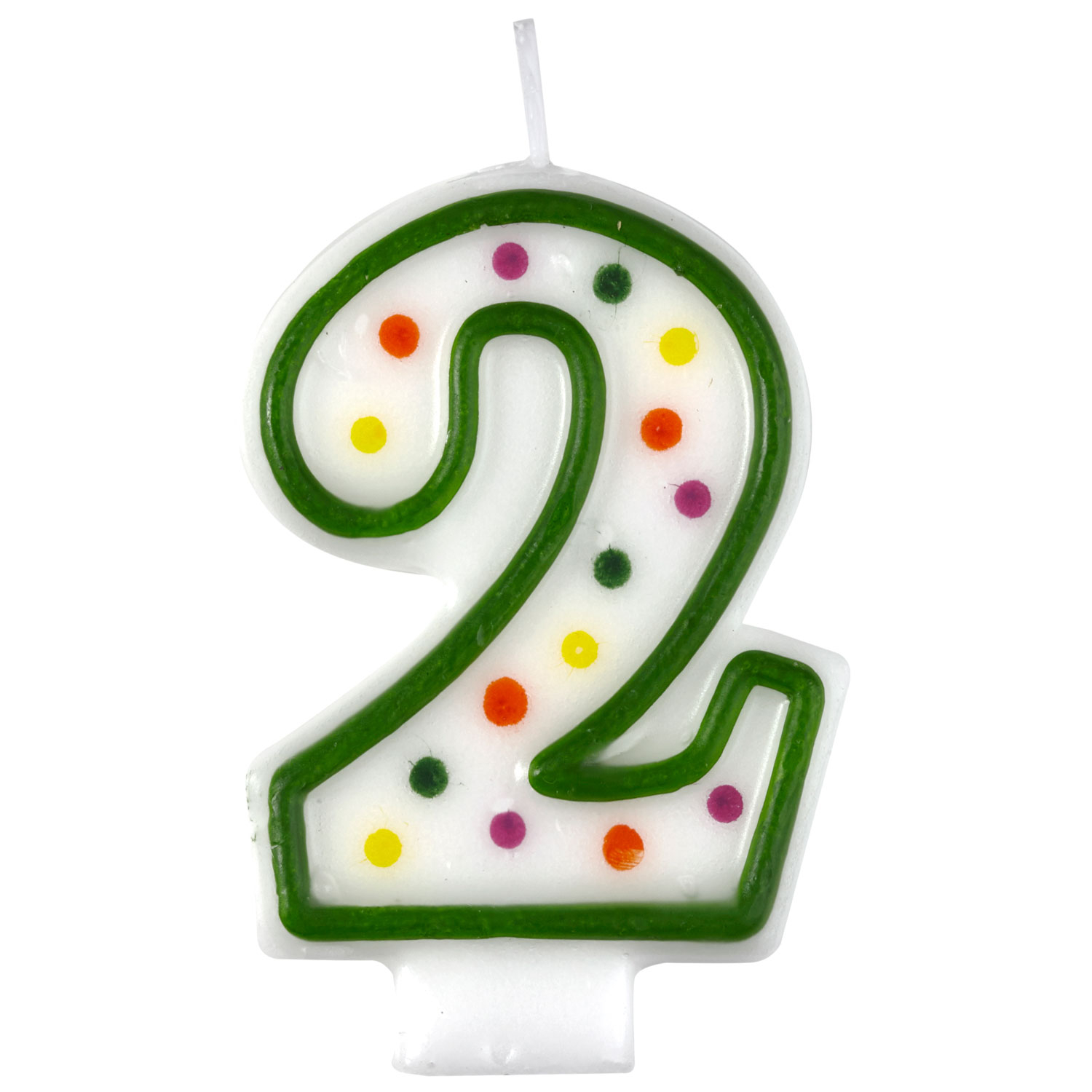 Birthday Cake Candle Number Age 2