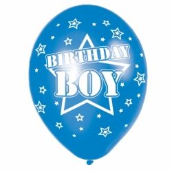Birthday Boy Party Balloons