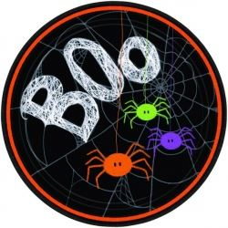 Spider Frenzy Boo Party Plates