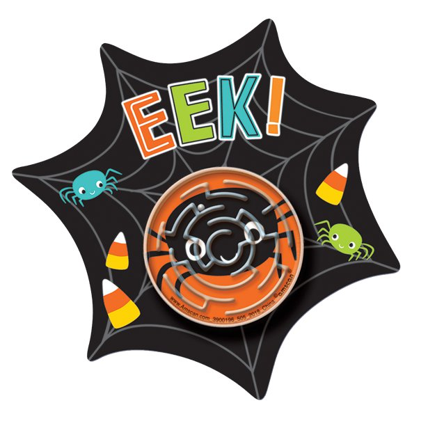 Eek Spider Party Puzzle Maze Cards