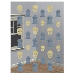 Halloween Party Skull Hanging Decoration