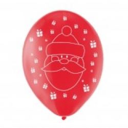 Christmas Party Santa Balloons