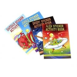 Party Bag Sticker and Activity Books
