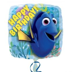 Finding Dory Happy Birthday Foil Balloon
