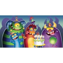 Monster Mania Party Tablecover