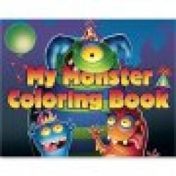 Monster Mania Colouring Book