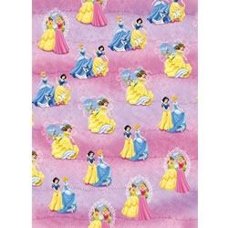 Disney Princess Party Gift Wrap & Tags