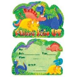 Little Dinosaur Party Invitations