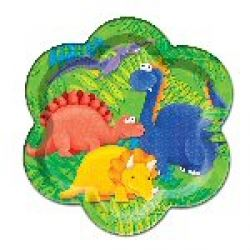 Little Dinosaur Party Plates