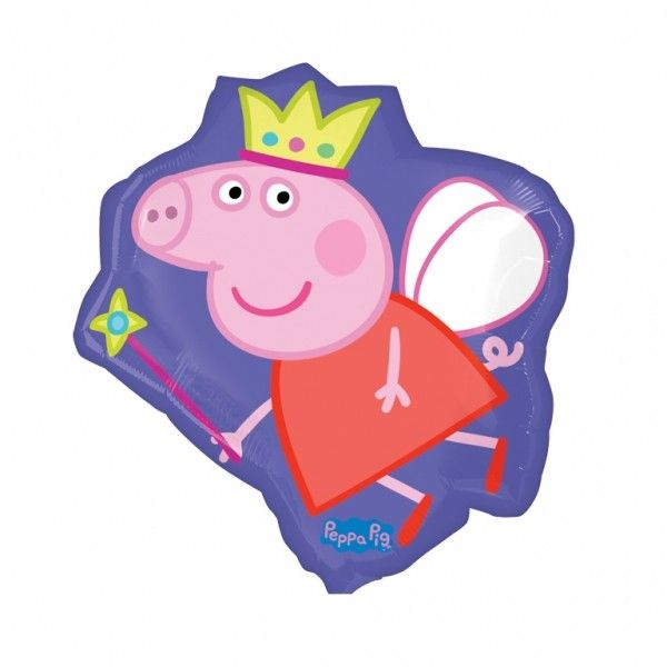 Peppa Pig Fairy Super Size Helium Balloon